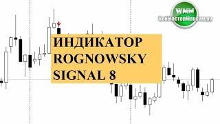 Индикатор Rognowsky signal 8 - это платный индикатор