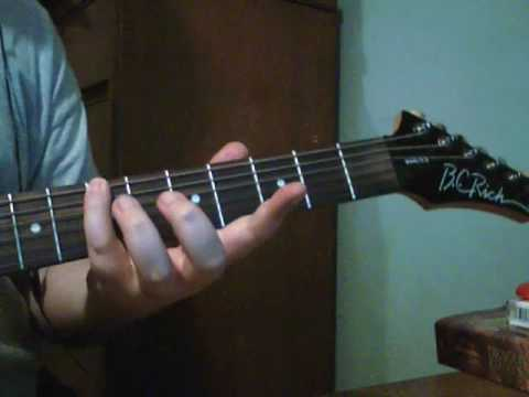 how to tune your guitar to the 6th string low e using the 5th fret method youtube. Black Bedroom Furniture Sets. Home Design Ideas