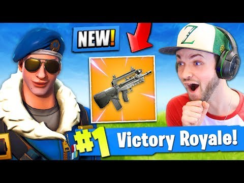 NEW LEGENDARY GUN *LEAKED* in Fortnite: Battle Royale!