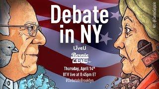 Bernie Sanders Debate in NY LIVE!