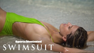Genie Bouchard Kisses Her 'French Lover' | Sports Illustrated Swimsuit