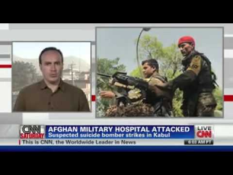 Afghan military Hospital attacked by bomber