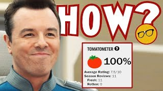The Orville 100% Rotten Tomatoes Critics Score Proof They Fear Disney or Have Seen The Light?