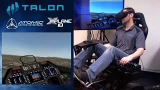 Atomic A3 VR Flight Training Device - XPlane 10