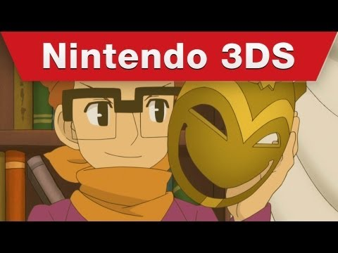 Download Nintendo 3DS - Professor Layton and the Miracle Mask Trailer Images