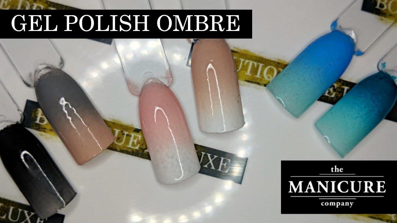 Ombre Gel Polish Tutorial 💅🏼 The Manicure Company (TMC ...