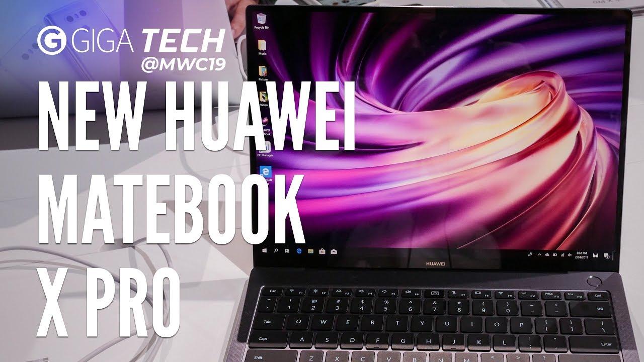 HUAWEI MATEBOOK X PRO im Hands-On (deutsch): Die MacBook-Pro-Alternative  mit Windows? – GIGA DE