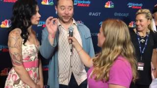 Ryan Stock and Amberlynn Reveal Truth About Scary Mistake on AGT