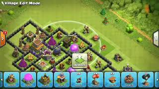 clash of clans-TH8 New Troll Base 2018