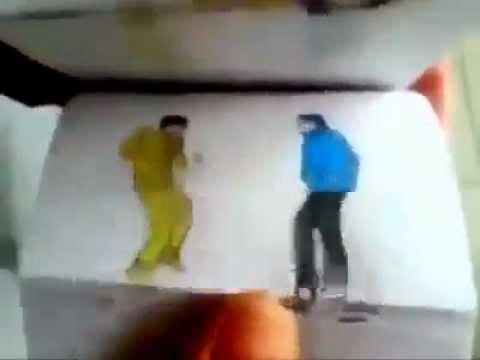 """Phát """" SỐT """" Với Gangnam Style Từ Tranh Vẽ"""