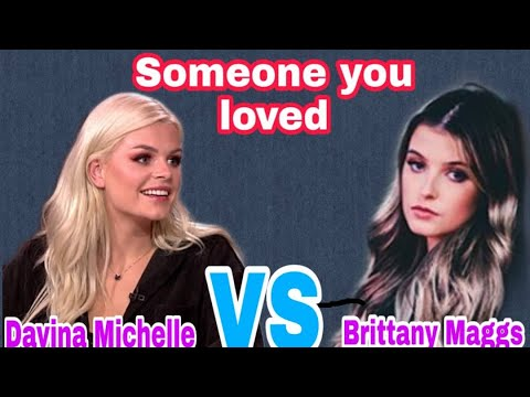 Someone you loved - Lewis Capaldi (cover by Davina Michelle vs Brittany Maggs)