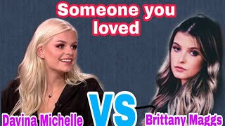 Download Mp3 Someone You Loved-lewis Capaldi  Cover By Davina Michelle Vs Brittany Maggs