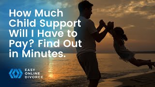 How much child support should I pay? Find out you child support payments in minutes.