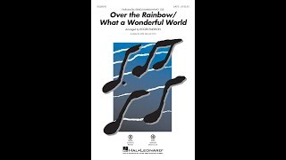 Download lagu Over the Rainbow/What a Wonderful World (SATB Choir) - Arranged by Roger Emerson