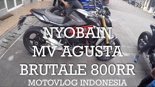 Nyobain MV Agusta Brutale 800RR - Indonesia #motovlog 95 thumbnail