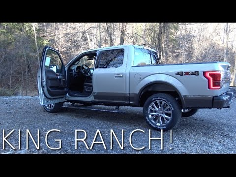 The KING RANCH is the NICEST Ford F150 you can buy - Here's why!