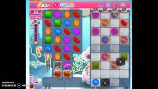 Candy Crush Level 316 w/audio tips, hints, tricks