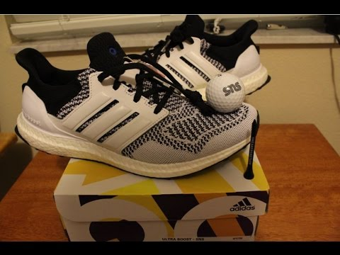 size 40 a1173 34499 Adidas x Sneakersnstuff SNS Ultra Boost Tee Time Unboxing + Review