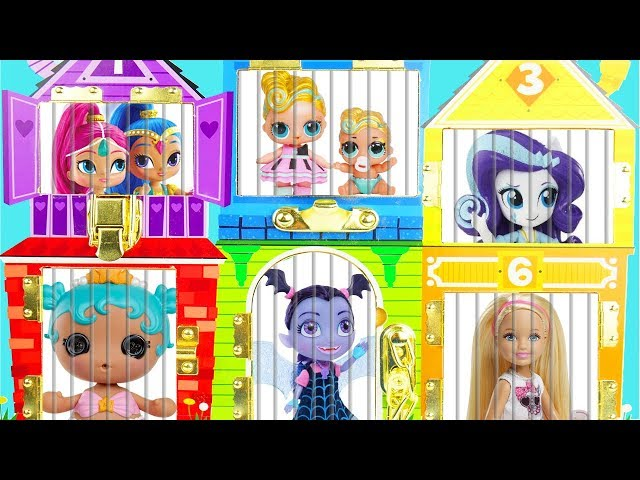 Lol Surprise Dolls Find Fake Vs Real Lil Sisters In Doll House