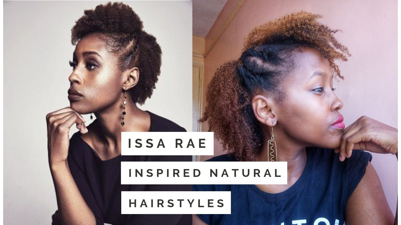 ISSA RAE INSPIRED NATURAL HAIRSTYLES ...