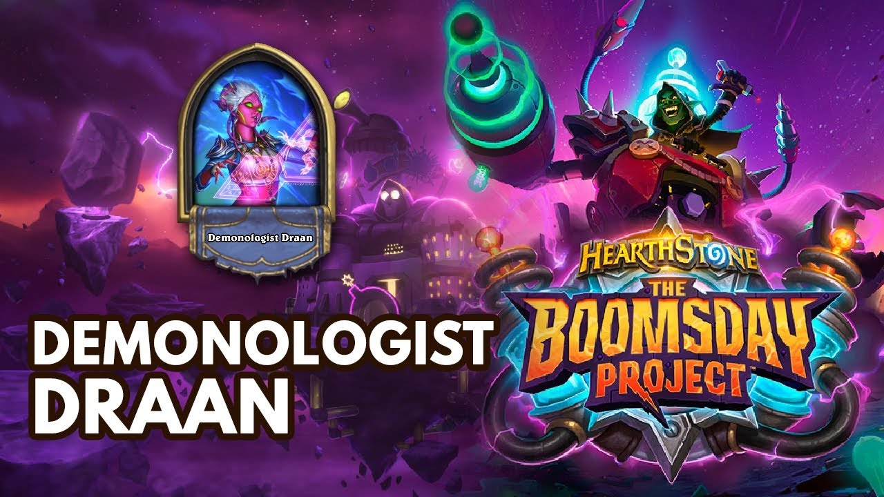 Board Clear Boomsday Puzzle - Demonologist Draan