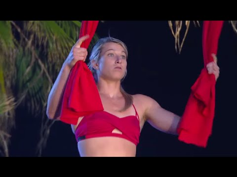 American Ninja Warrior Jessie Graff KILLS IT | What's Trending Now
