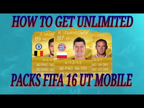 Unlimited Free Exchanges Packs Fifa 16 UT MOBILE (ANDROID / IOS) !!! INCREASE INSTANT PROFIT