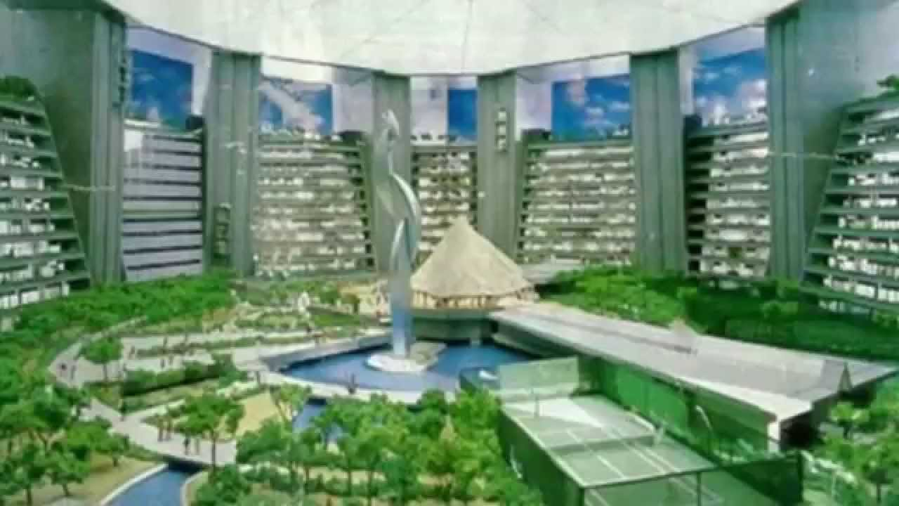 Tallest building concept never built the x seed 4000 youtube for Concept building