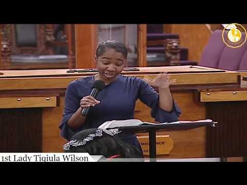 COGTB PRESENTS: The 2018 National Women's Covention Night #1 - 1st Lady Wilson/ Sister Eiesha Porter