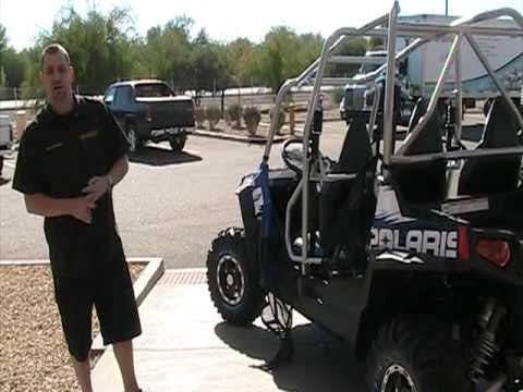 Rick Mace At RideNow Peoria Demonstrates The All N...