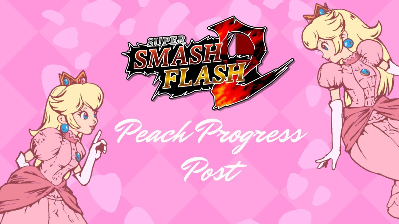 SSF2 Mods: Peach mod (WIP) Progress Post
