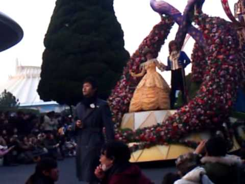 via mobile phone tokyo disney land parade dec-30-2010