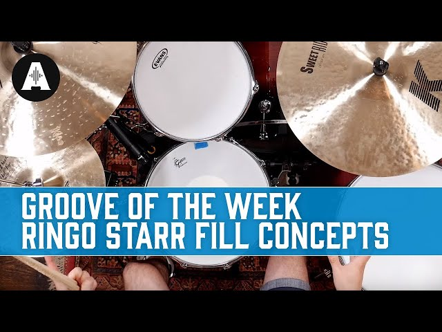 Groove Of The Week Ringo Starr Drum Fill Concepts Youtube