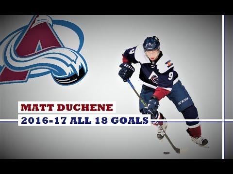 Matt Duchene (#9) ● ALL 18 Goals 2016-17 Season (HD)
