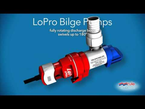 Rule LP900 Series Bilge Pumps