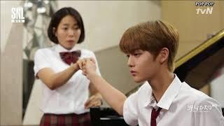 [Vietsub] SNL Korea 9 Wanna One - Bạn trai 3 phút (Jinyoung)
