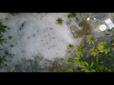Palmerston Island - Aerial Drone Footage - Will in Paradise