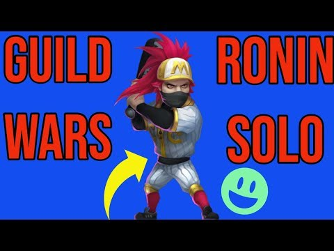 GUILD WARS. RONIN SOLO TOP BASE. CASTLE CLASH.