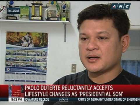 Meet Duterte's eldest son Paolo