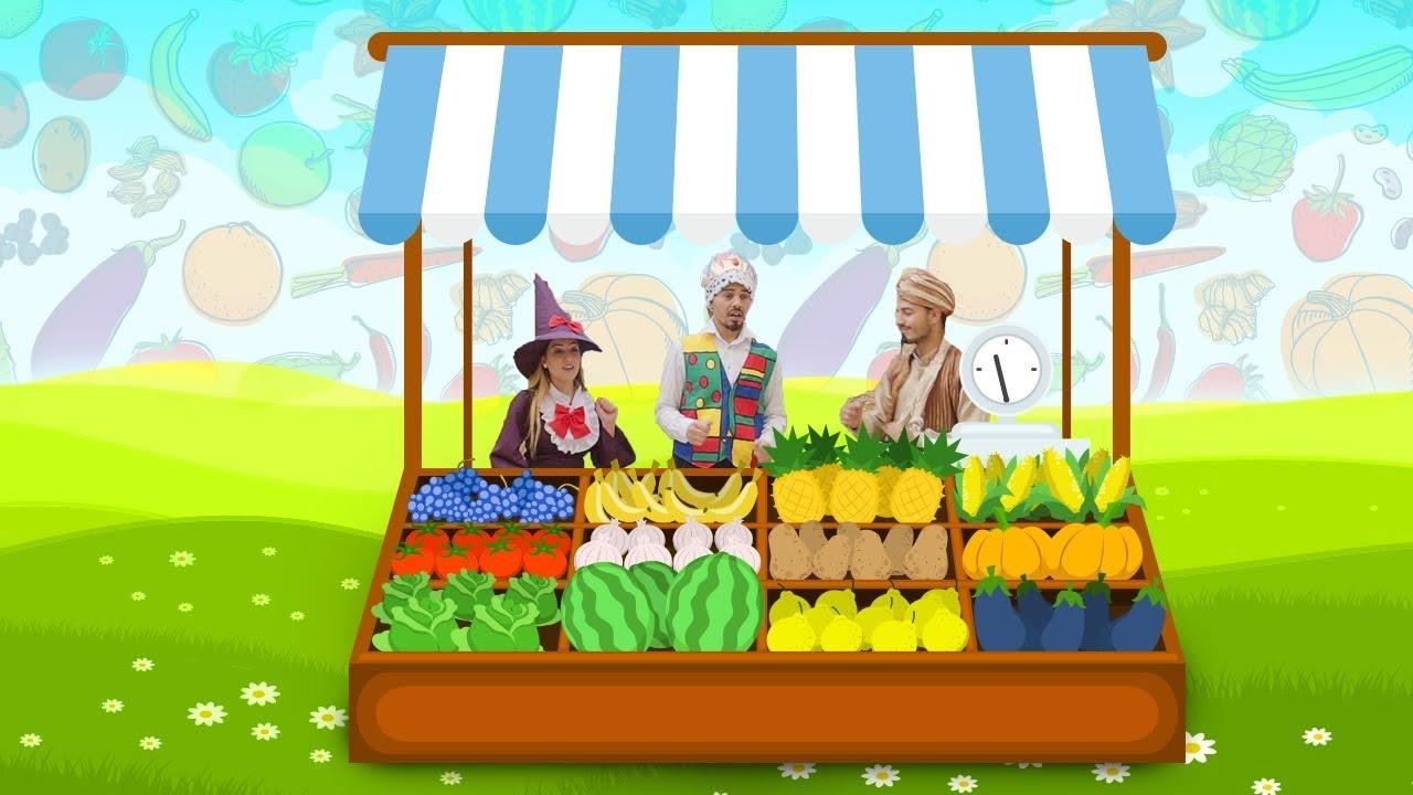 نيسانة وعبقور اغنية يا عمو البياع Vegetables And fruits Seller Song