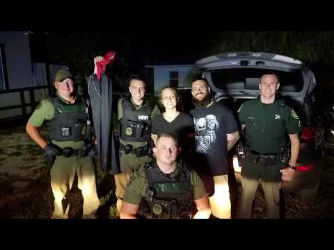Grinning fugitives arrested after Volusia County car chase