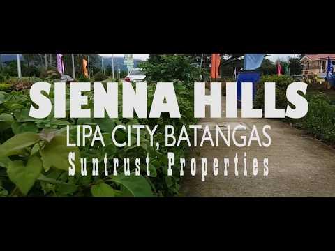 Suntrust Properties - Sienna Hills, Lipa City, Batangas, Philippines | Video Tour