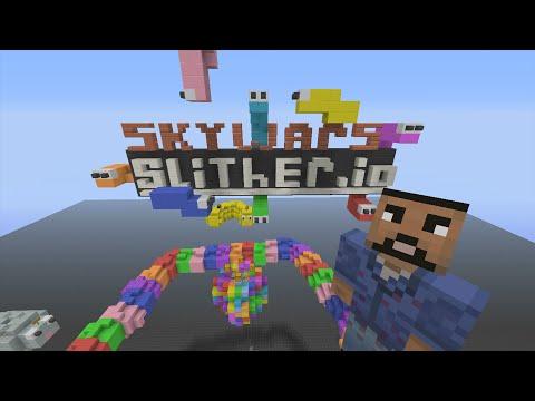 Minecraft Xbox - Slither.io - Team Skywars