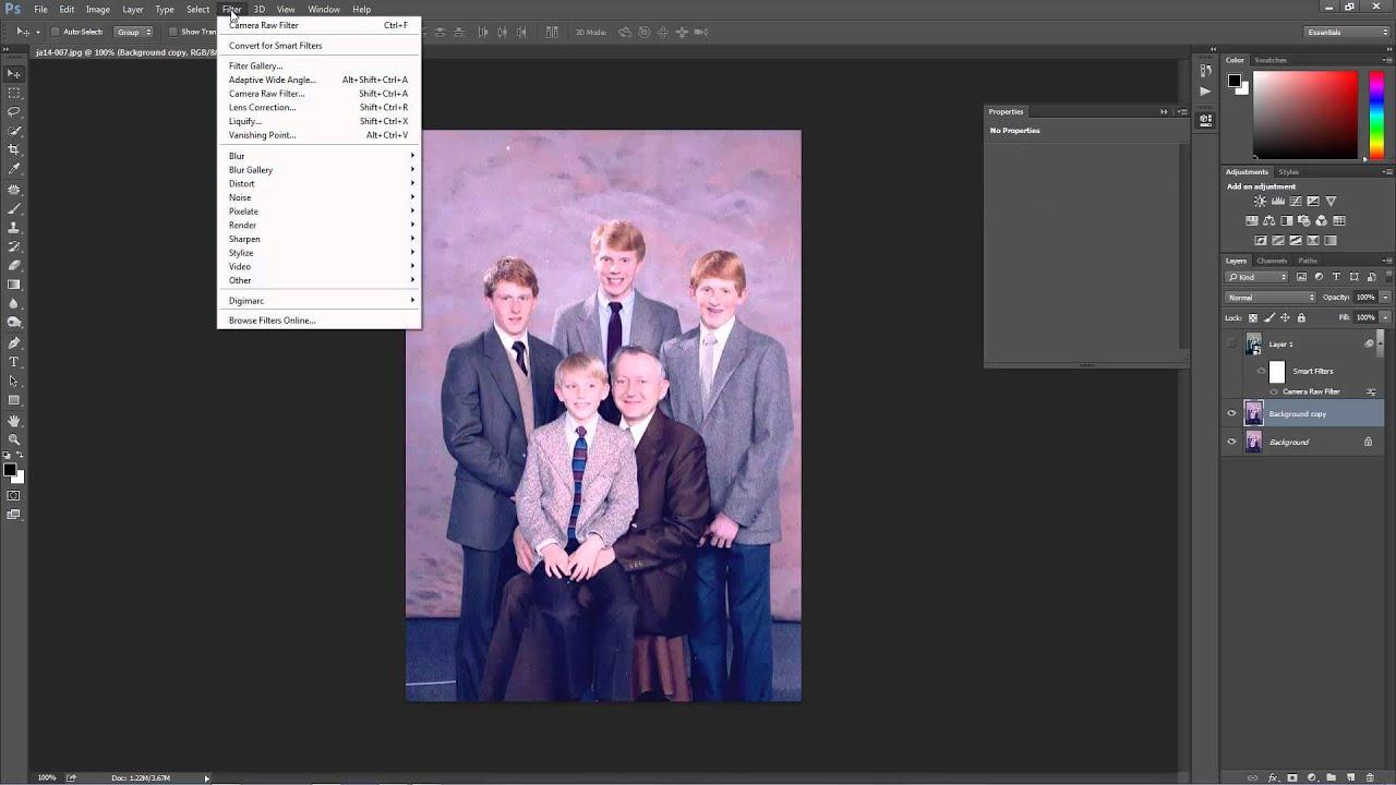 How to fix color cast in photoshop elements - Photoshop Cc Repair Faded Color Cast Picture