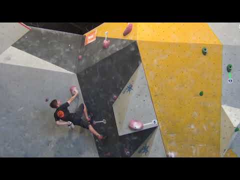 Colin Duffy 2018 Bouldering Divisional Qualification Round