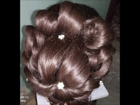 New Latest Twisted Messy Bun Hairstyle#Advance Hairstyle with Twisting Messy Bun#Tranding hairstyle thumbnail