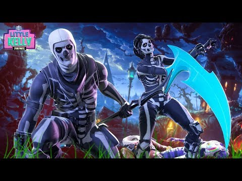 LITTLE KELLY AND RAPTOR PICK THEIR HALLOWEEN OUTFITS | Fortnite Short Film