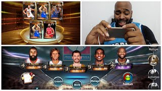 NBA All Net - Legendary Cards Draw & Ranked Matches + Look At My Team (iOS App Review)