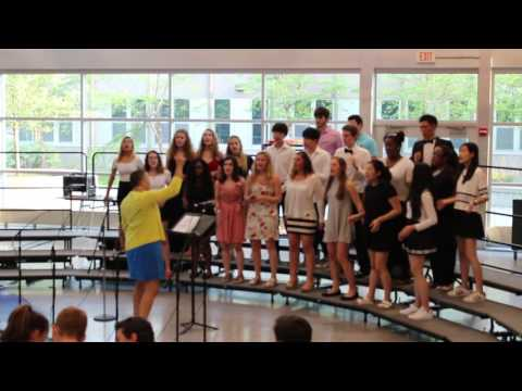 """Newton South High School Pops Concert 2016-- """"Lord of All"""""""