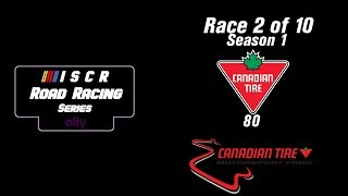 ISCR Ally Road Racing Series 2/10 - Canadian Tire 80 @ CTMP